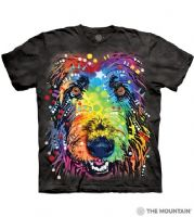 Russo Irish Wolfhound T-shirt | Dog T-shirts | The Mountain® | Dean Russo